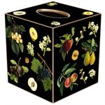 Fruit & Leaves Tissue Box Cover