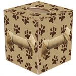 Paw Prints Tissue Box Cover