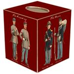 Civil War Soldiers Tissue Box Covers (Two colors)
