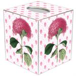Pink Hydrangea Tissue Box Covers
