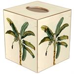 Antique Palm Tree Tissue Box Covers