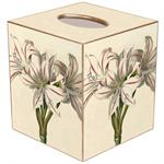 Antique Lilies Tissue Box Cover
