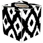 Grande Ikat Tissue Box Covers (Multiple Colors)