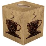 Coffee Lover Tissue Box Cover