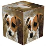 Jack Russell Terrier Tissue Box Cover