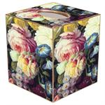 Peony Floral Design Tissue Box Cover