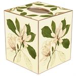 Magnolias Tissue Box Cover