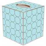 Circles Tissue Box Covers (Multiple Colors)