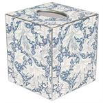 Wedgewood Blue Floral Tissue Box Covers