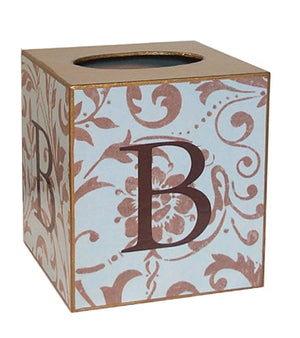 Damask Tissue Box