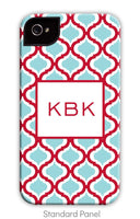Kate Red & Teal Phone Case