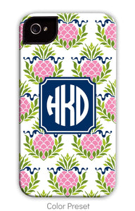 Pineapple Repeat Pink Phone Case