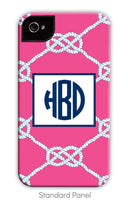 Nautical Knot Raspberry Phone Case