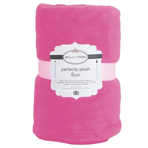 Monogrammed Perfectly Plush Throw