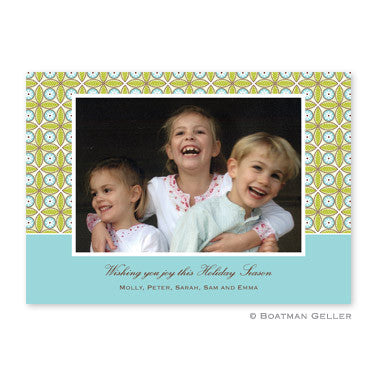 Tile Green & Blue Photocard