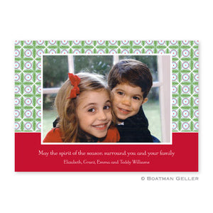 Tile Red & Green Photocard