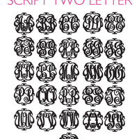 Paris Monogram Earrings