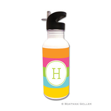 Bold Stripe Water Bottle
