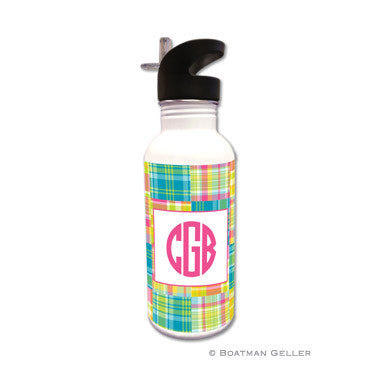 Madras Patch Bright Water Bottle