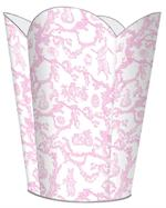 Bunny Toile Waste Basket (Multiple colors)