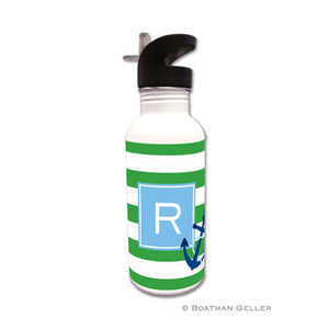 Stripe Anchor Water Bottle