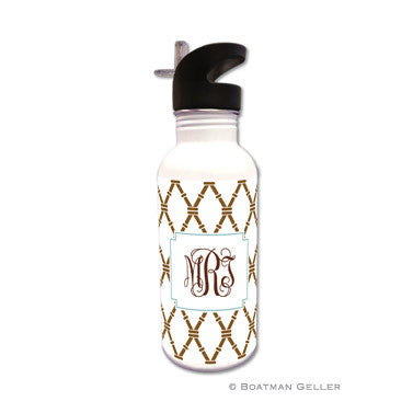 Bamboo Brown & Slate Water Bottle