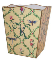 Dragonfly & Bee Waste Basket