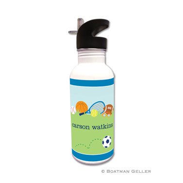 Sports Blue Water Bottle
