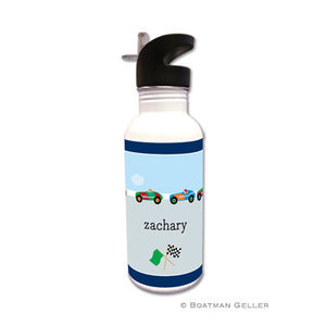 Race Cars Water Bottle