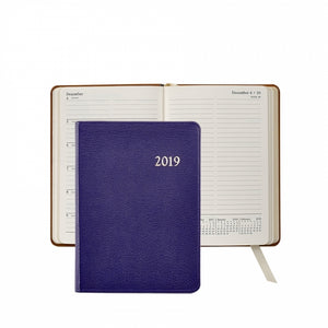 2019 Personal Leather Weekly Journal