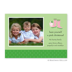 Wellies Holiday Photocard