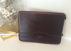 Personalized Leather Computer Case
