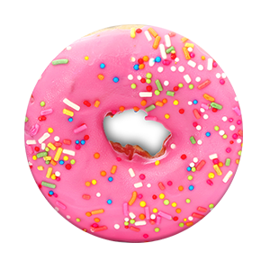 Pop-socket (Pink Donut)