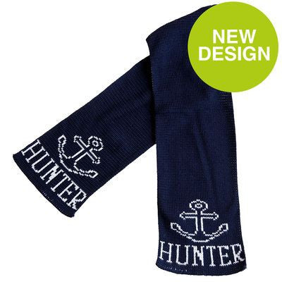 Personalized Anchor Scarf