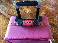 Monogrammed Baggage Handle Wrap