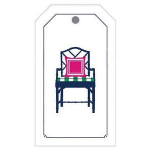 Bamboo Chair Gift Tag