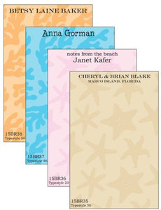 Personalized Beach House Notepad Collection