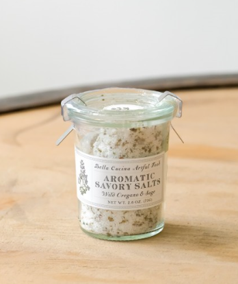 Wild Oregano and Sage Savory Salt