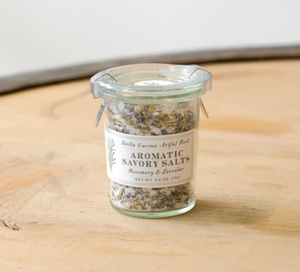 Rosemary and Lavender Savory Salt