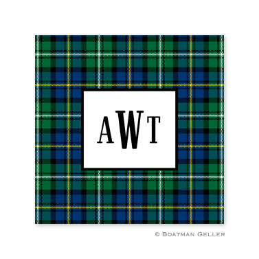 Black Watch Plaid Coaster