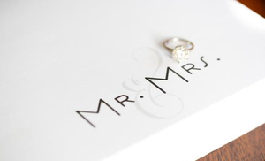 Mr & Mrs Notepads