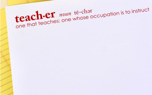 Teacher Definition Notepads