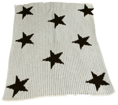 Cashmere Floating Stars Blanket