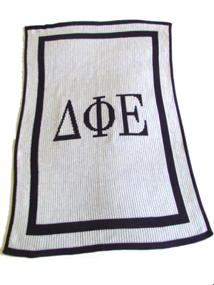 Acrylic Greek Sorority Blankets