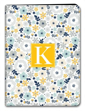 Personalized Blooms iPad 2/3/4 Folio