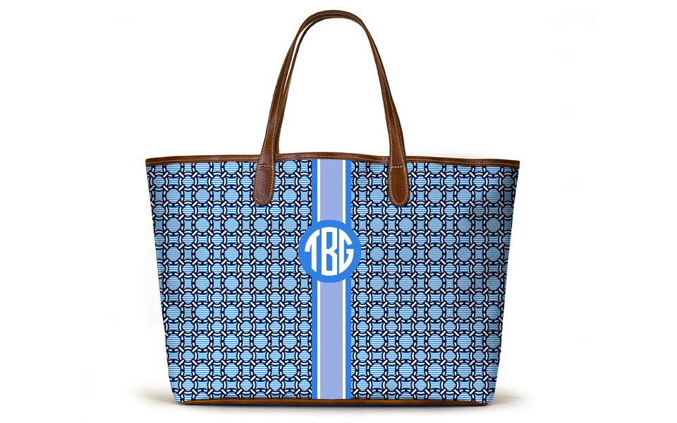 Monogrammed St Anne Tote - Chatham Chain