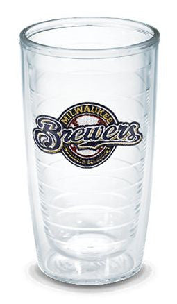Monogrammed Milwaukee Brewers Tervis Tumbler