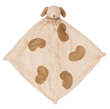 Personalized Brown Puppy Blankie