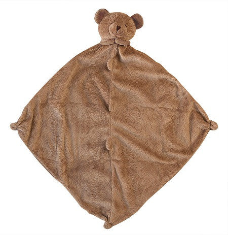 Personalized Brown Teddy Bear Blankie