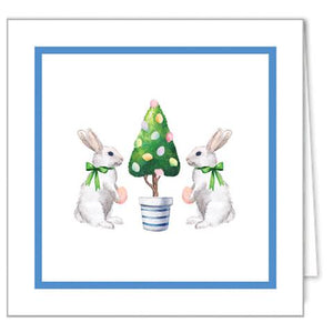 Happy Easter Bunny Tree Gift Enclosures